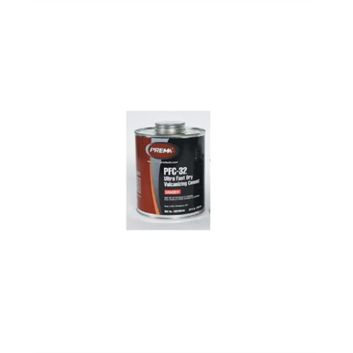 /Box Ultra Fast Dry Vulcanizing Cement 32 oz. Can