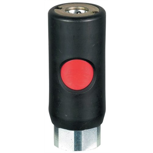 1/4 FEMALE SAFETY COUPLING TRU-FLATE SERIES