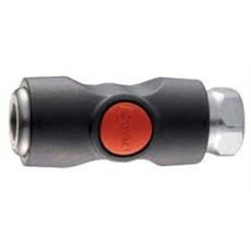 """PS1 TRUFLATE SAFETY COUPLING 1/4"""" FEMALE"""