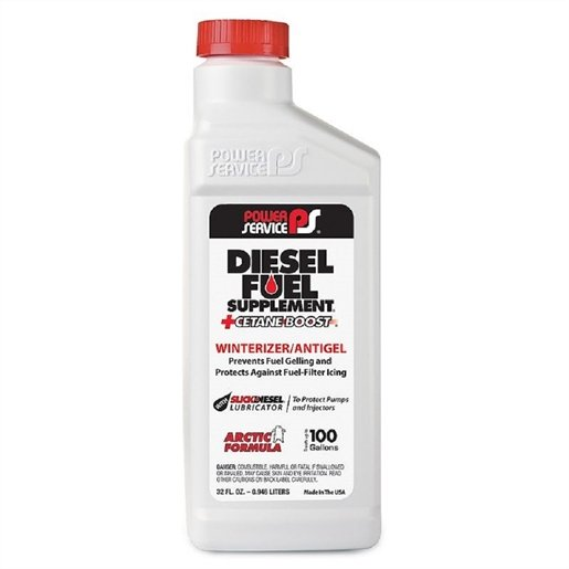 12PK Diesel Fuel Supplement +Cetane Boost