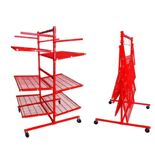 BODY SHOP RACK WITH 6 SHELVES