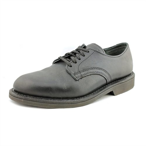 BLACK OXFORD WALKABOUT LEATHER SHOE
