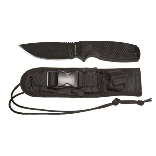 Panther Tactical Fixed Blade, Black Coated