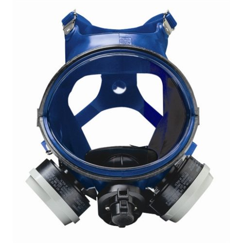 Professional Blue Full-Face Respirator - Organic Vapor/N95 Particulate
