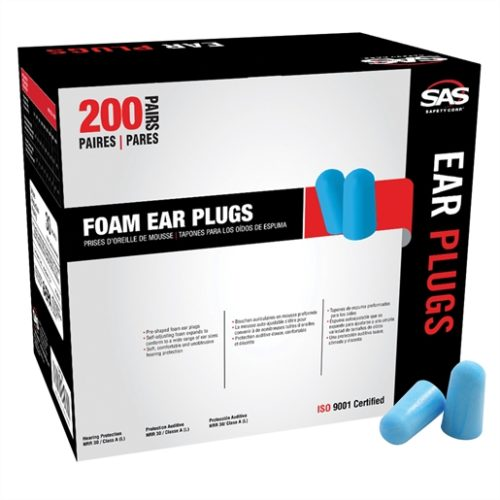 Foam Ear Plugs Disp.enser Box (200 pr)
