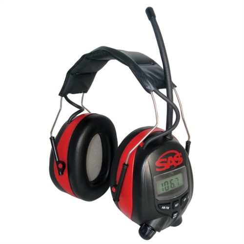 Digital AM / FM Radio Earmuff Hearing Protection (Ea)