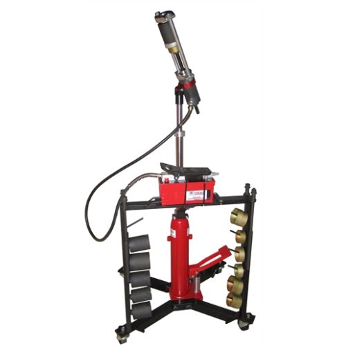 Mobile Hydraulic Press Tool with Hand Pump