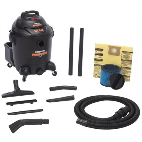 12 GALLON 6.5 PHP WET/DRY UTILITY VAC