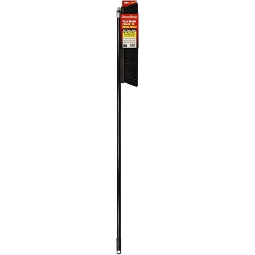 "PUSH BROOM 18""HEAD/HNDL MAROON"