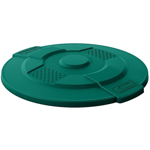 Suncast Commercial 44 Gal Utility Lid Green