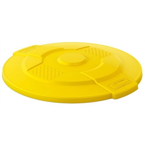 Suncast Commercial 44 Gal Utility Lid Yellow
