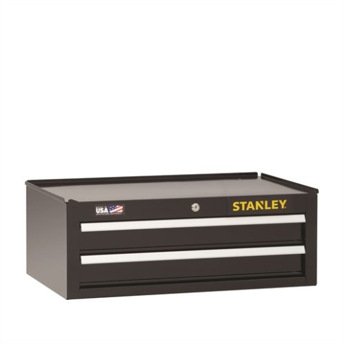 "Stanley 2-Drawer Middle Chest, 26"" x 16"