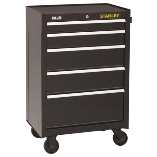 Stanley 5-Drawer Rolling Cabinet, 26.5 in.