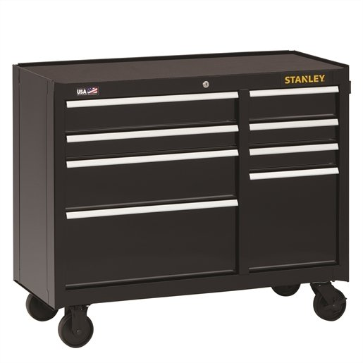 Stanley 8-Drawer Rolling Cabinet, 41 in.,