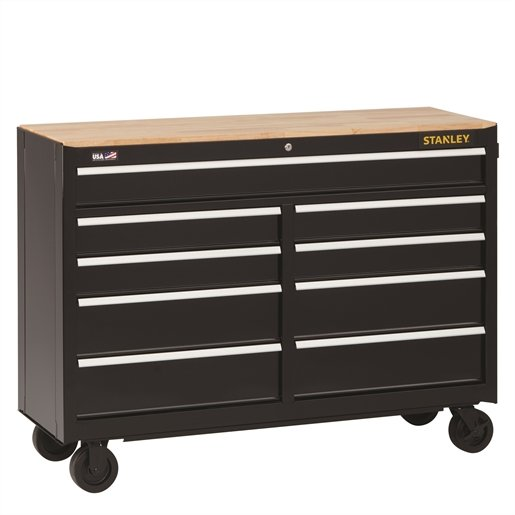 Stanley 9-Drawer Mobile Workbench, 52 in.,