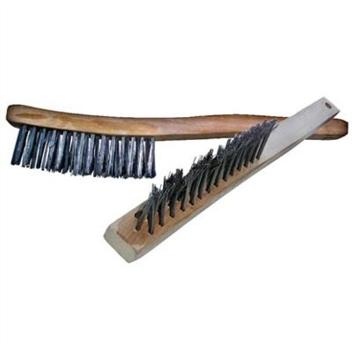"""V"" Wire Brush Long Hdl"