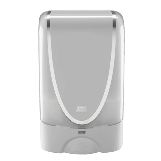 White Touch Free Dispenser with Batteries