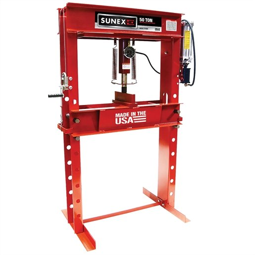 50 Ton Air/Hydraulic Shop Press
