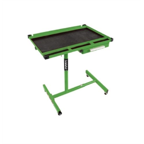 Deluxe Work Table, Lime Green