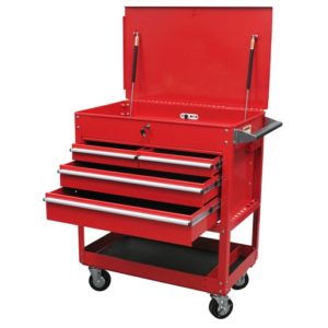4-Drawer Professional Cart, Red