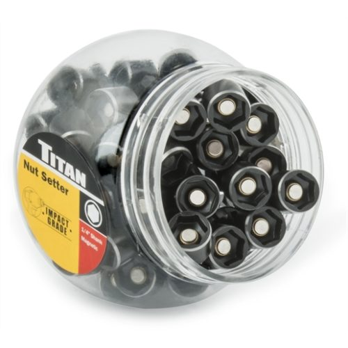 "50-PC 1/2"" 45 MM MAGNETIC NUT SET"