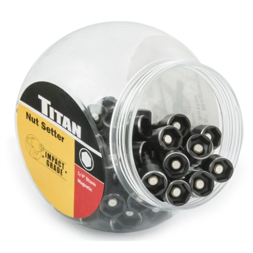"50-PC 9/16"" 65 MM MAGNETIC NUT SE"