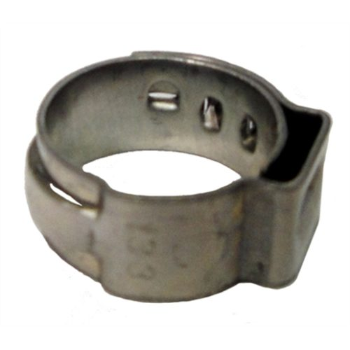 """7/16"""" Open Pinch Hose Clamp .378"""" - 7/16"""" (100/bag"""
