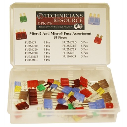 Micro2 and Micro3 Fuse Assortment (55-pc)