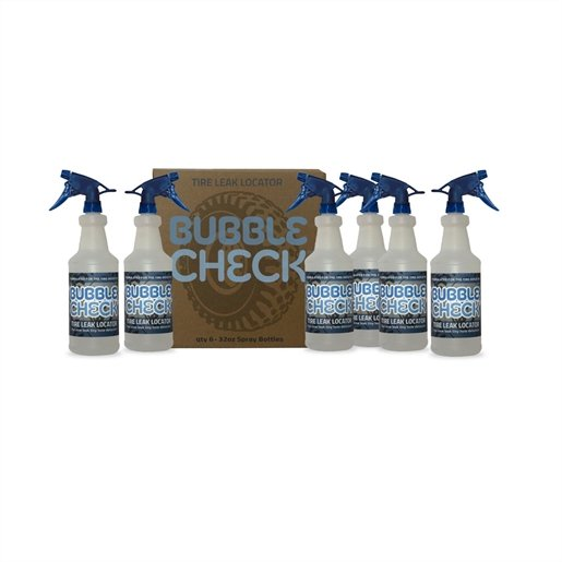 Bubble Check Tire Leak Detector,  (6) 32oz