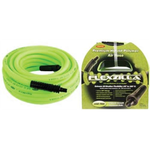 Flexzilla® 1/4 in. x 50 ft. Air Hose w/ 1/4 in. MN