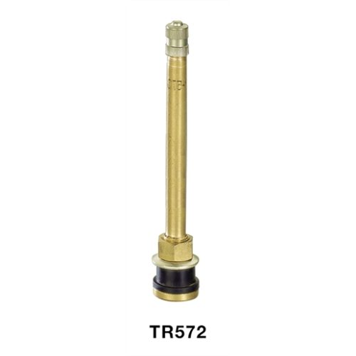 572 Brass Clamp-in Tire Valve (Case of 100)