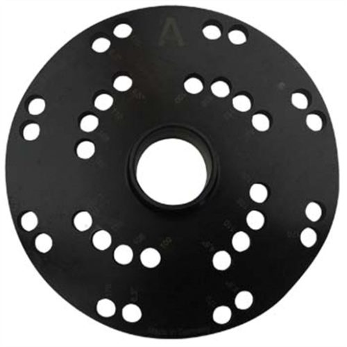 Haweka 28mm Flange Plate A - 4 Lug and 8 Lug Plate
