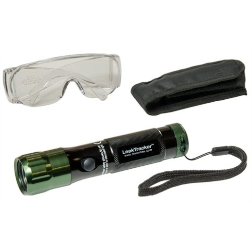 UV LED flashlight high-intensity (AAA) battery