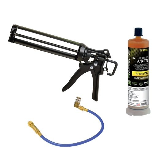 EZ-Shot R-134a/PAG A/C dye injection kit with TP9