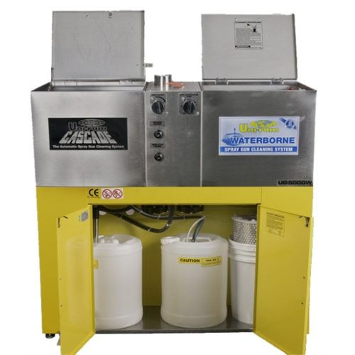 TWO TANKS EQUIV TO UG4000 (SOLVENT)+UM120W(WATER