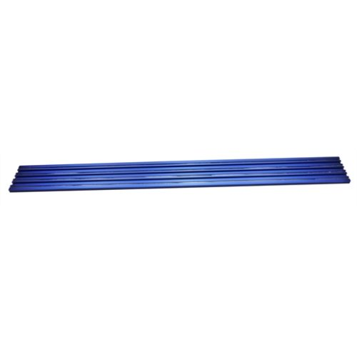 """12"""" Blue Double Wide Magrail No Studs"""