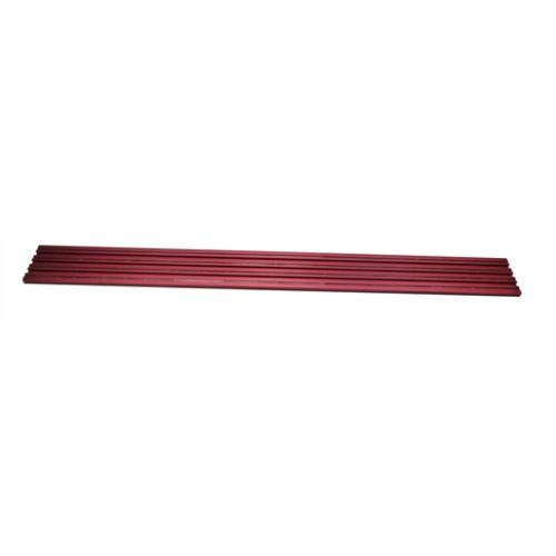 "20"" Red Double Wide Magrail No Studs"