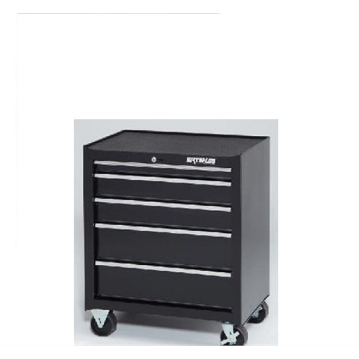 26 In. Black 5-Drawer Tool Cabinet