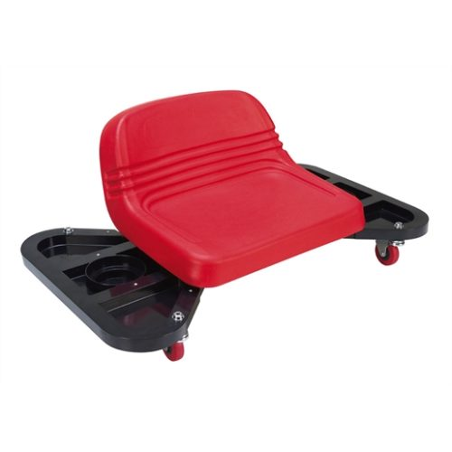 Low profile detailing seat