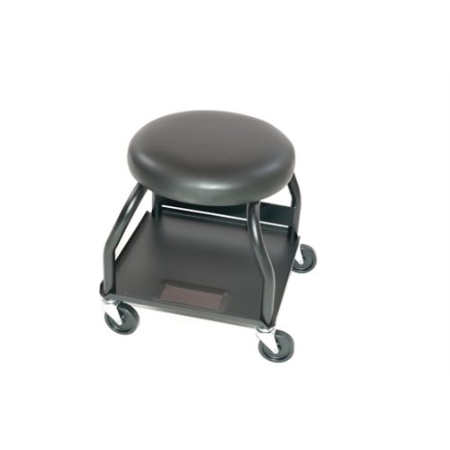 HEAVY-DUTY CREEPER SEAT WITH ROUND SEAT