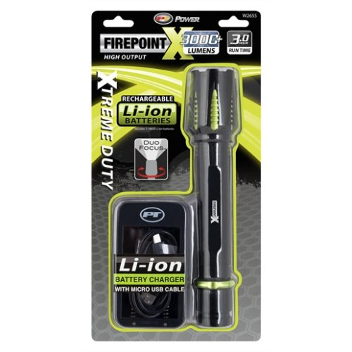 FirePoint X Li-Ion Flashlight